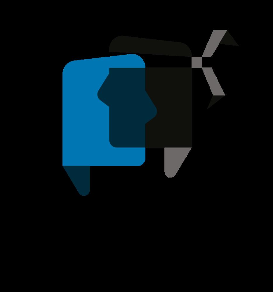 Casa di a lingua Aiò! Logo